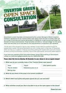 Tiverton Green Questionnaire