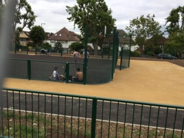 Tiverton Green MUGA 27 JulyJPG